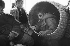 Basket in Tibet